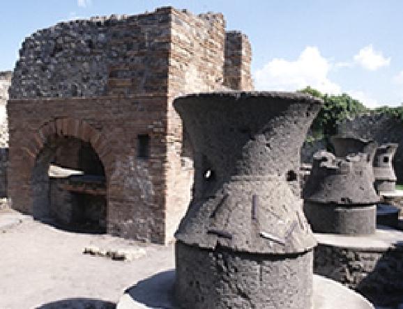 ポンペイ遺跡にあるパン窯