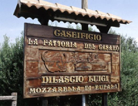 ナポリ郊外にたくさんあるカセイフィーチョのひとつ、ルイージさんの工場。