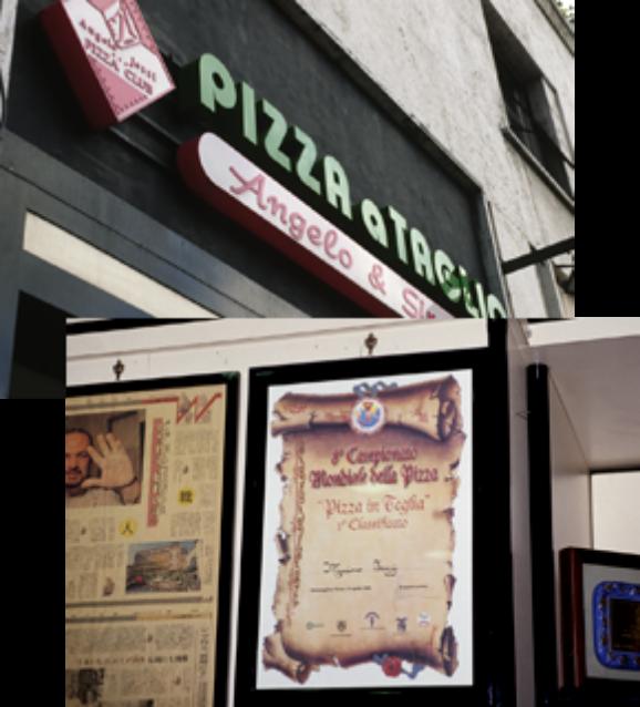 日本からも取材に訪れるほど有名な切り売りピザの店「アンジェロ・エ・シモネッタ」世界ピザ大会チャンピオン。